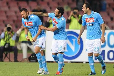 Napoli Siena 2-1 highlights 13 maggio