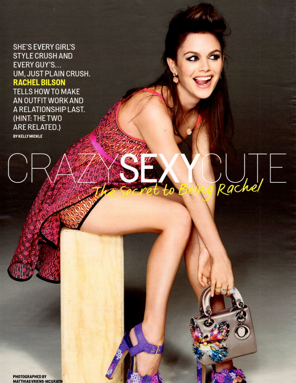 Rachel Bilson for Cosmopolitan : May 2013 |MagSpider