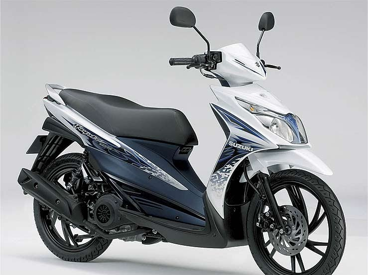 2011 Suzuki Hayate 125 title=