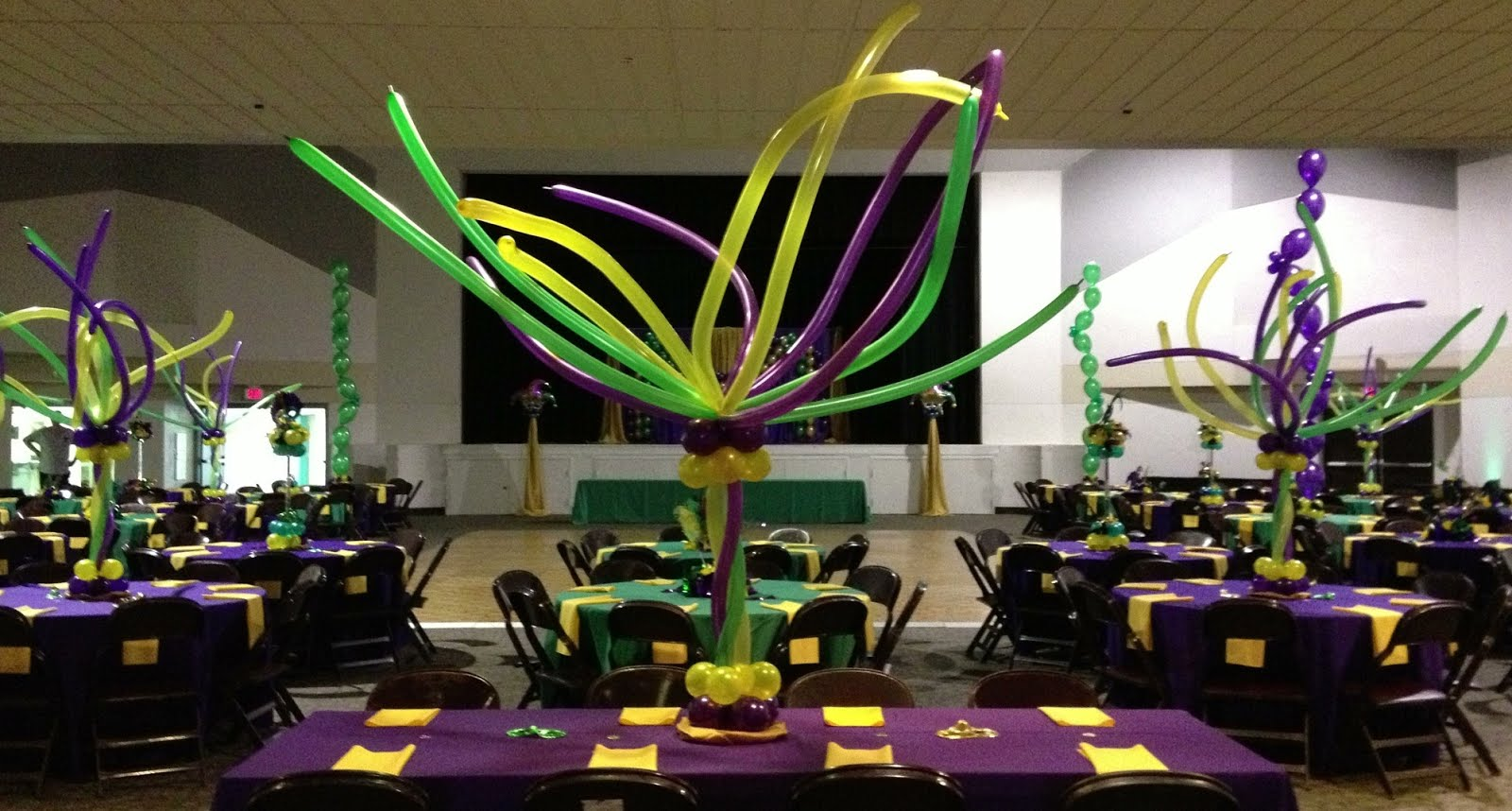 Party people event decorating company mardi gras awards