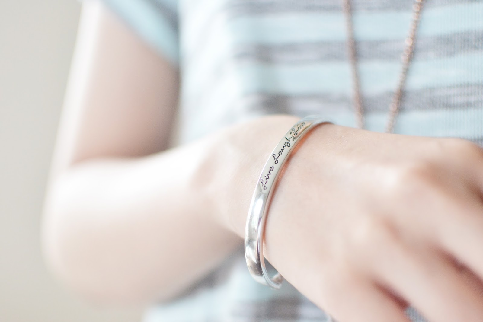 silver bangle, silver bracelet