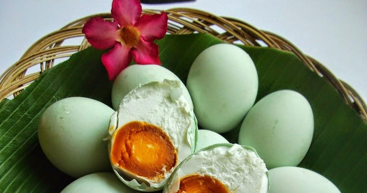cara membuat telur asin masir asli brebes