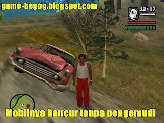 Misteri GTA San Andreas Ghost Car