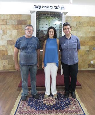 Conib e Agência Judaica no Centro Israelita do Rio Grande do Norte