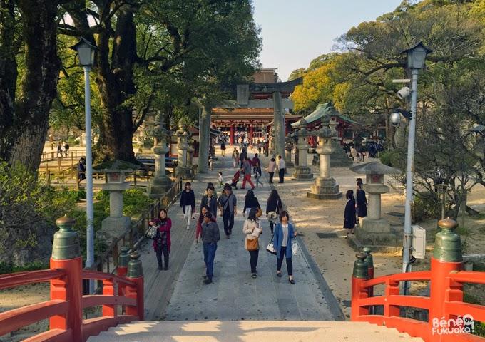 Dazaifu, sanctuaire tenman-gu
