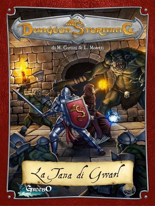 Recensione] Dungeon Storming – La Tana di Gwarl - Giochi sul ...