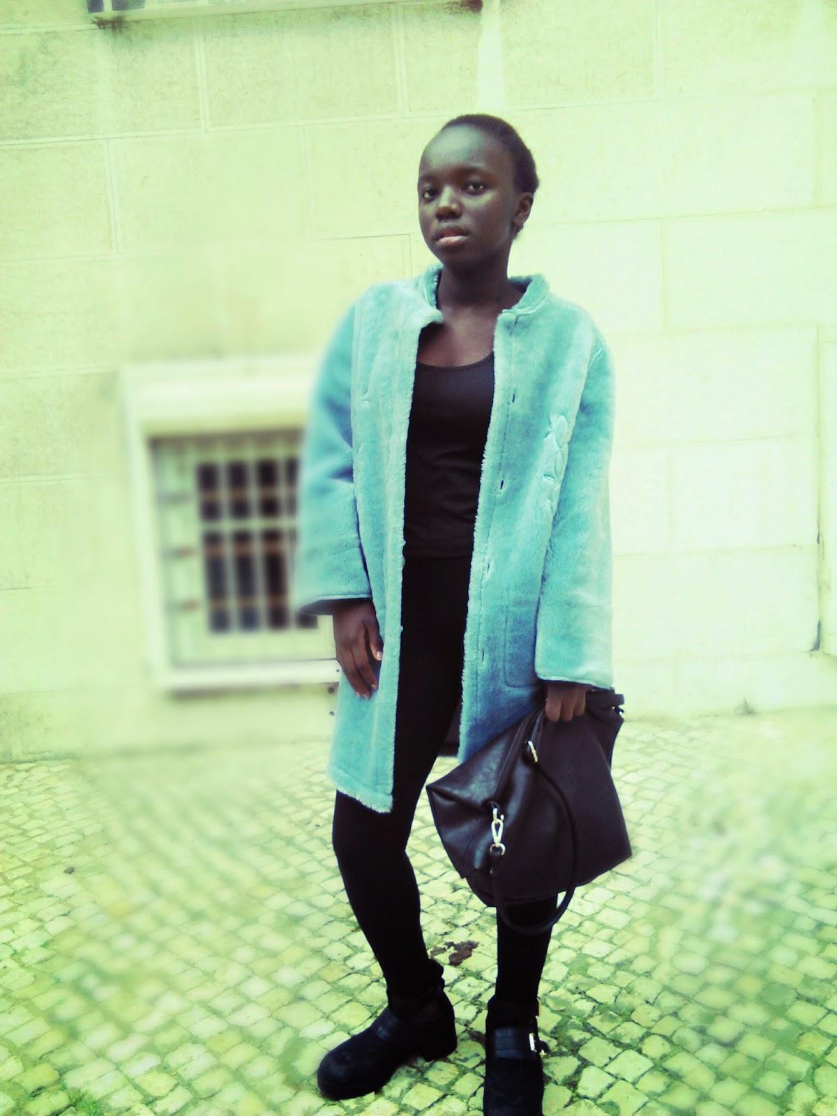 Blue Vintage Coat