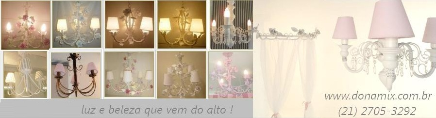 Luminárias infantil, decoração provençal, Lustre infantil , lustre artesanal