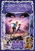 bookcover of THE ENCHANTRESS RETURNS (The Land of Stories #2) by Chris Colfer
