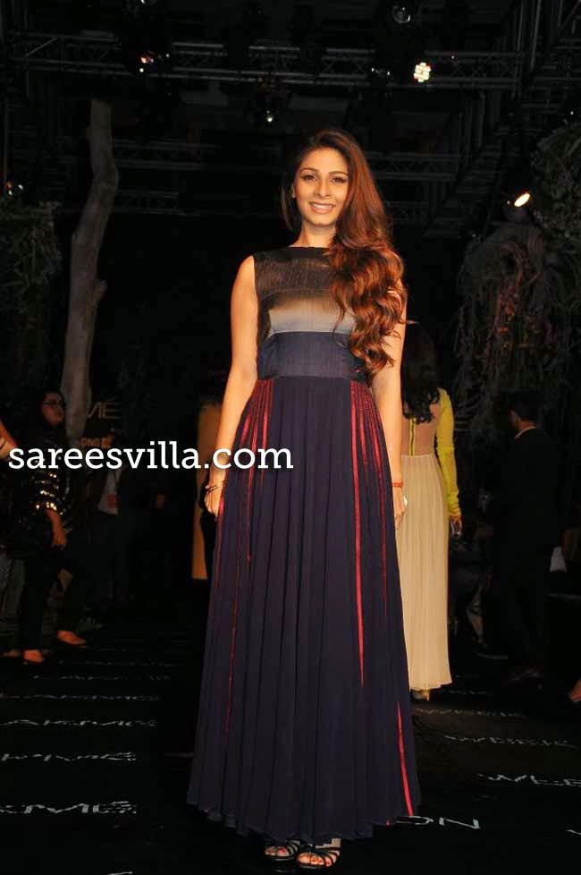 Tanisha at Lakme Fashion Week Summer 2014