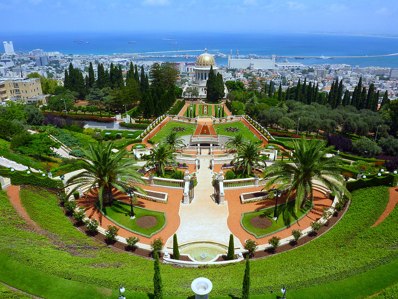 Haifa Israel  city photos gallery : HANGING GARDENS OF HAIFA, ISRAEL