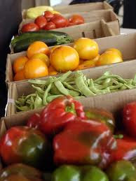 Buying food from the farmers market is a great step to lowering your eco footprint
