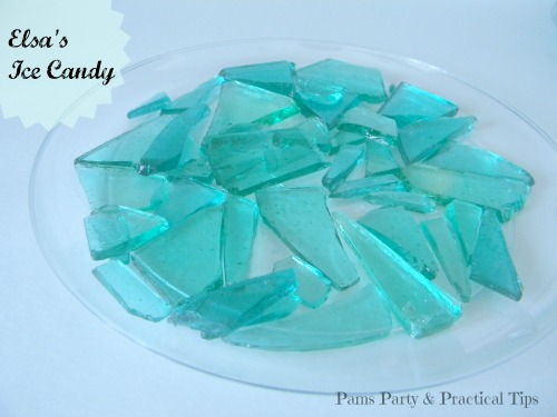 Elsa's Ice Candy for Frozen Party