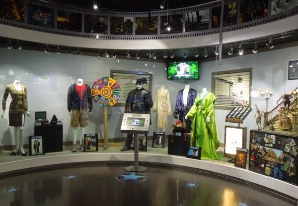 Universal Studios Hollywood costume prop exhibit