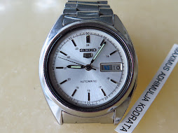 SEIKO 5 WHITE SILVER DIAL PART i - AUTOMATIC