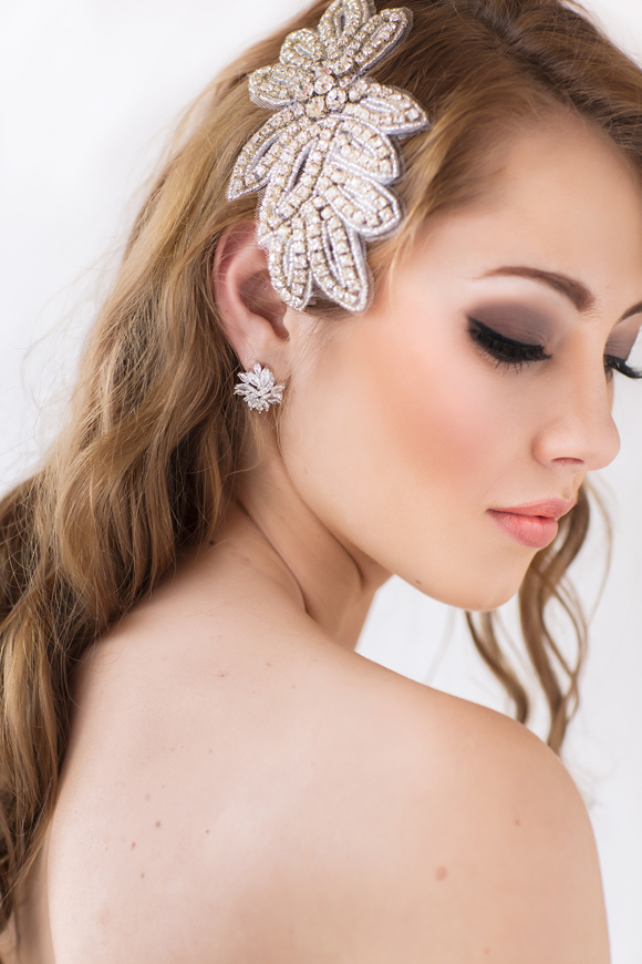 Paris Bridal Headpiece - www.perlejewellerymakeup.com.au