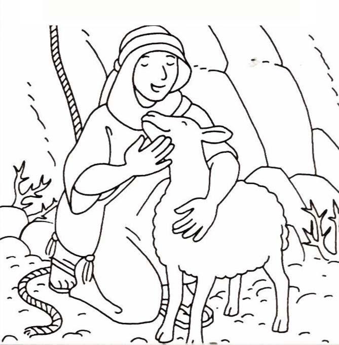 MATERIALES DE RELIGIN CATLICA Fichas para colorear y trabajar