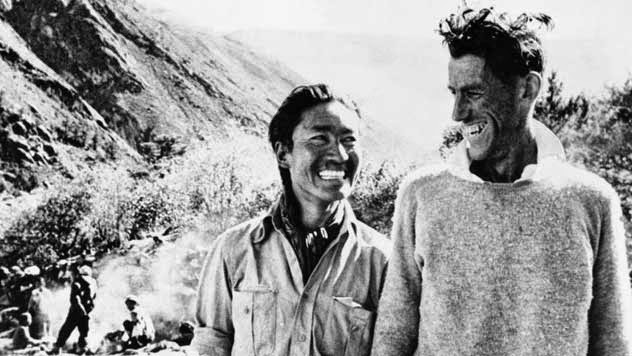 Edmund Hillary and Tenzing Norgay Mount Everest expedition