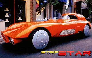 Automóveis do futuro - Strip Star