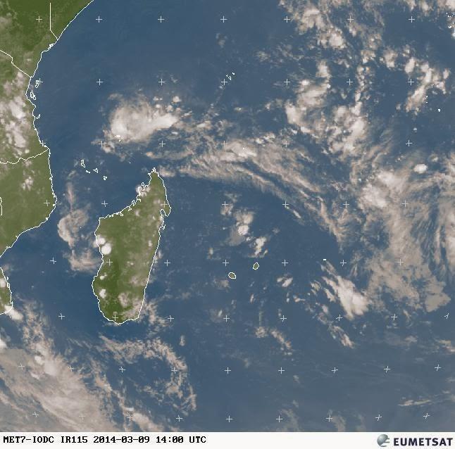 Image satellite réunion météo