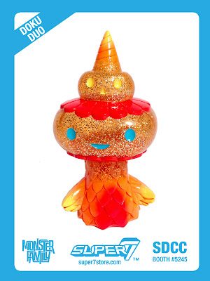 "San Diego Comic-Con 2013 Exclusive ""Orange Fizz"" Doku Duo Vinyl Figure by Super7"
