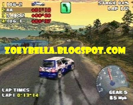 Download Game V-Rally 2 PS1