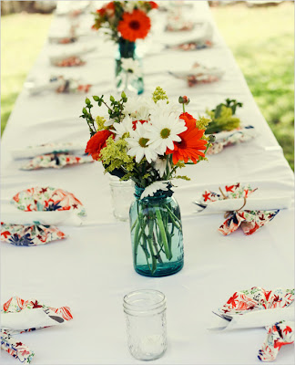 semplicemente perfetto wedding chicks handmade diy wedding arancione azzurro