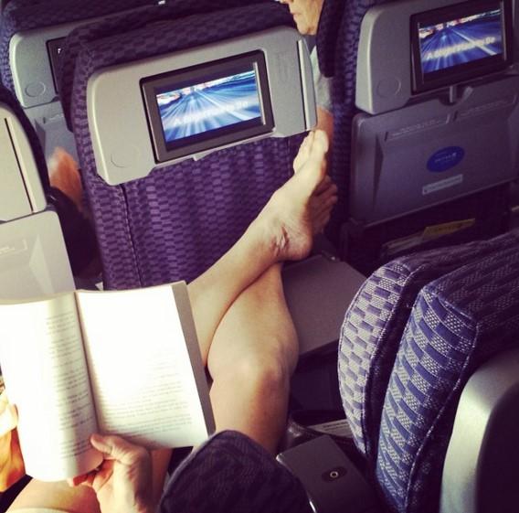 penumpang pesawat gila