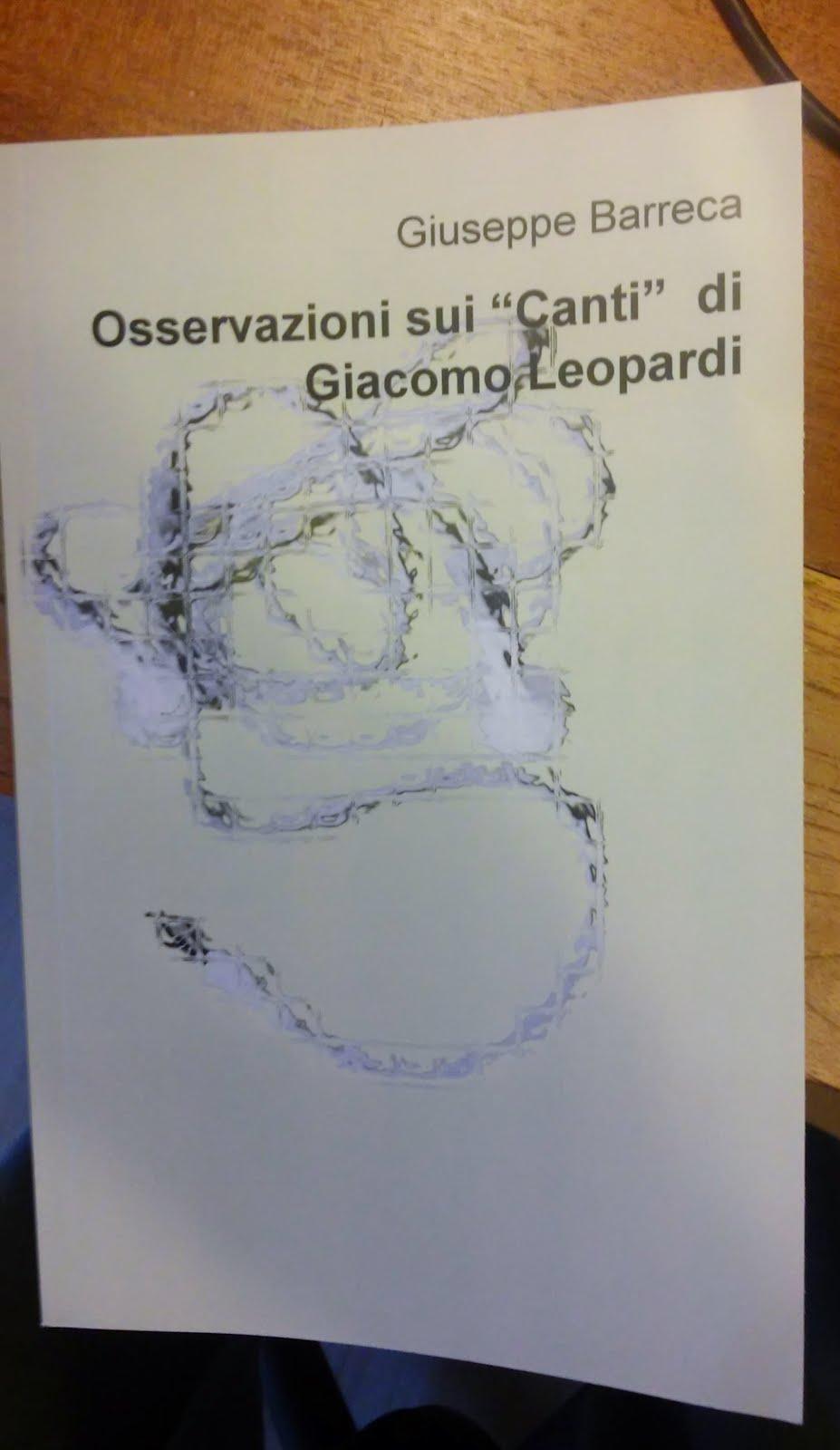 "Osservazioni sui ""Canti"" di Giacomo Leopardi"
