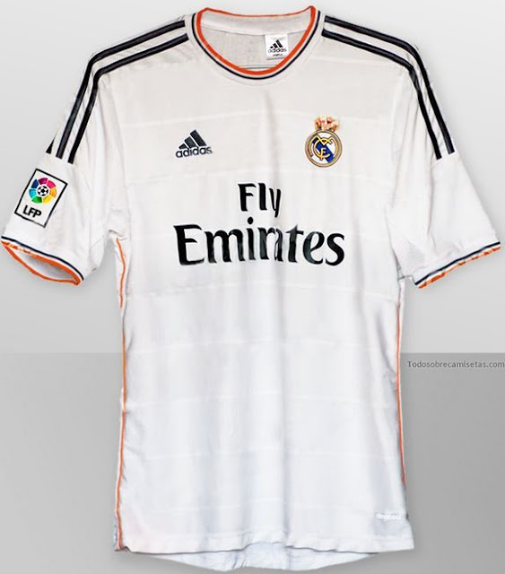 Camiseta Real Madrid 2013-2014 Fly Emirates. ¡Primeras imágenes!