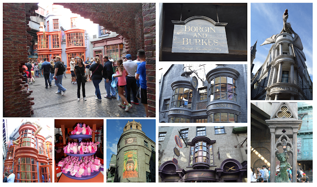 Desempacotando a Disney - Diagon Alley
