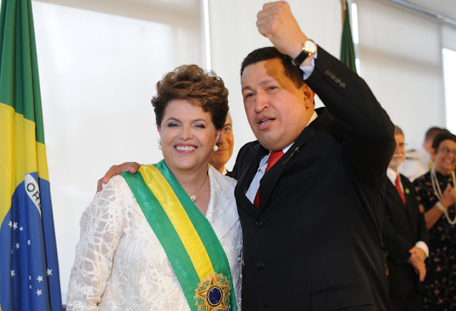 Visita de Chávez servirá para reafirmar as relações entre Venezuela e Brasil