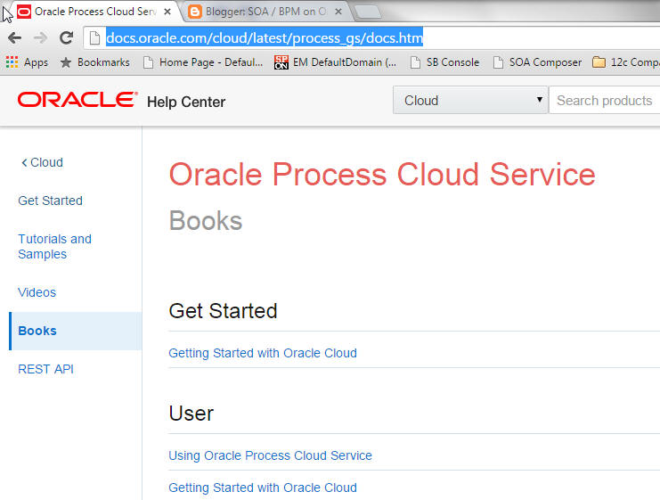 oracle cloud documentation