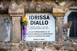 Idrissa mai més serà un 'sense nom', juny 2017
