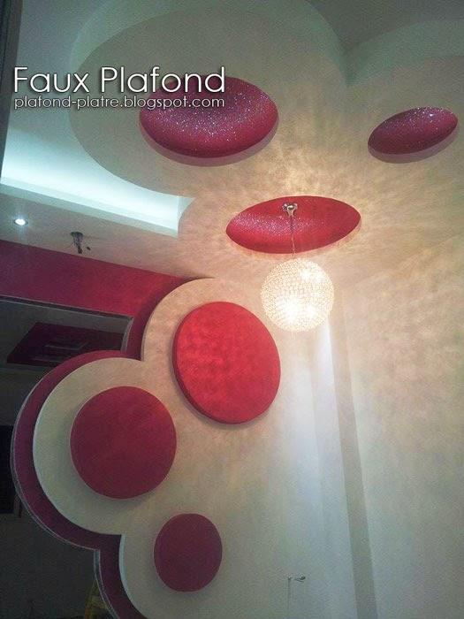 Faux plafond platre 2014 d coration et design for Faux plafond pour chambre