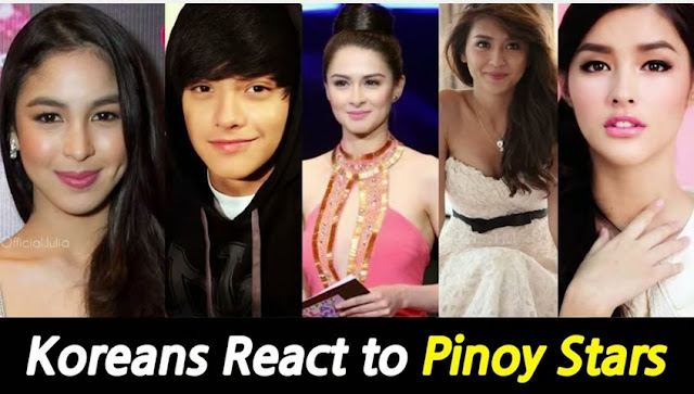 Koreans react to Marian Rivera, Liza Soberano and other Pinoy celebs