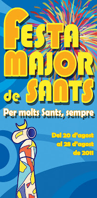 propuesta cartel fiesta mayor Sants