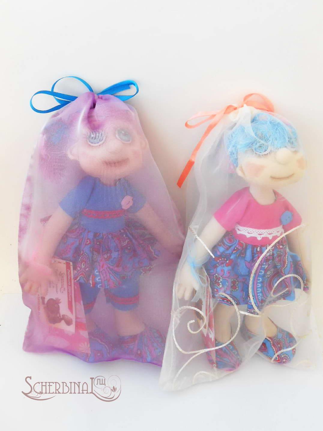 упаковка для куклы ручной работы