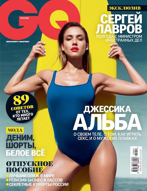 Jessica Alba - GQ Magazine Russia, July 2015