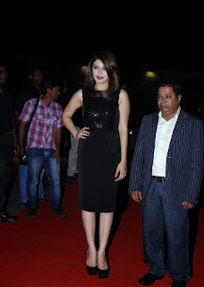 Actress Hansika Motwani Latest Pictures in Black Dress at iphone 6 Launch  15.jpg