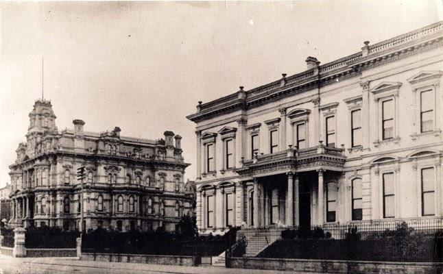 My Sf Past Nob Hill Huntington Park And Masonic Center