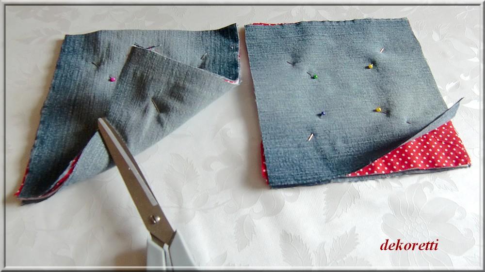 Прихватки для кухни своими руками из старых джинсов своими руками