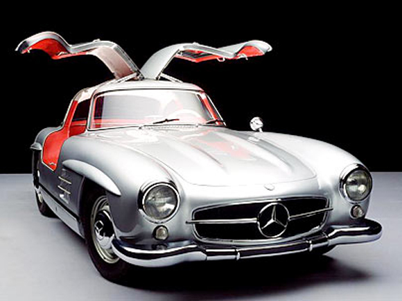 Mercedes 300 SLK Scrap Metal Art Car - Art Car Central