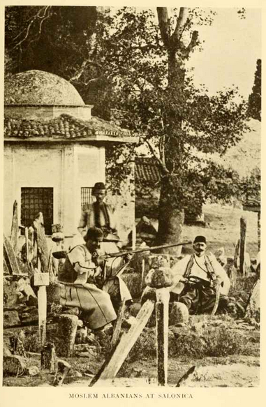 Albanians at Salonica