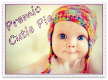 Premio Cutie Pie Award from Ljubinka