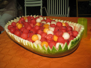 palline di frutta