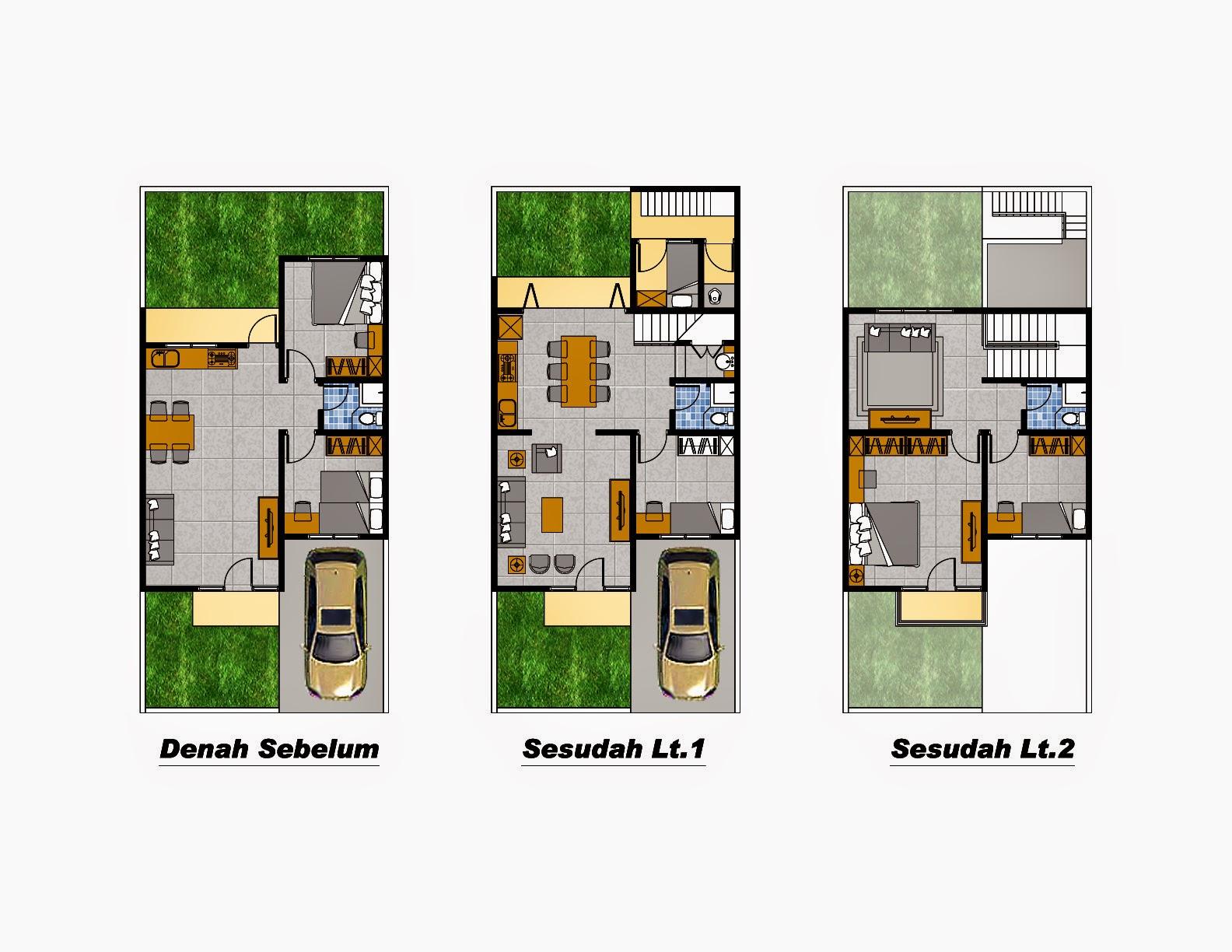 desain interior rumah minimalis type 45 | desain interior rumah