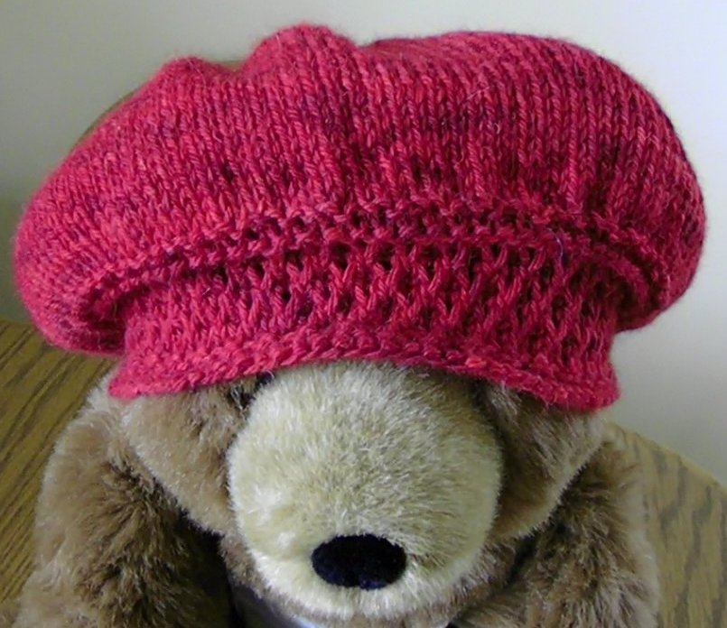 Lazy Days and Sundays: Jane Austen Knits hat pattern