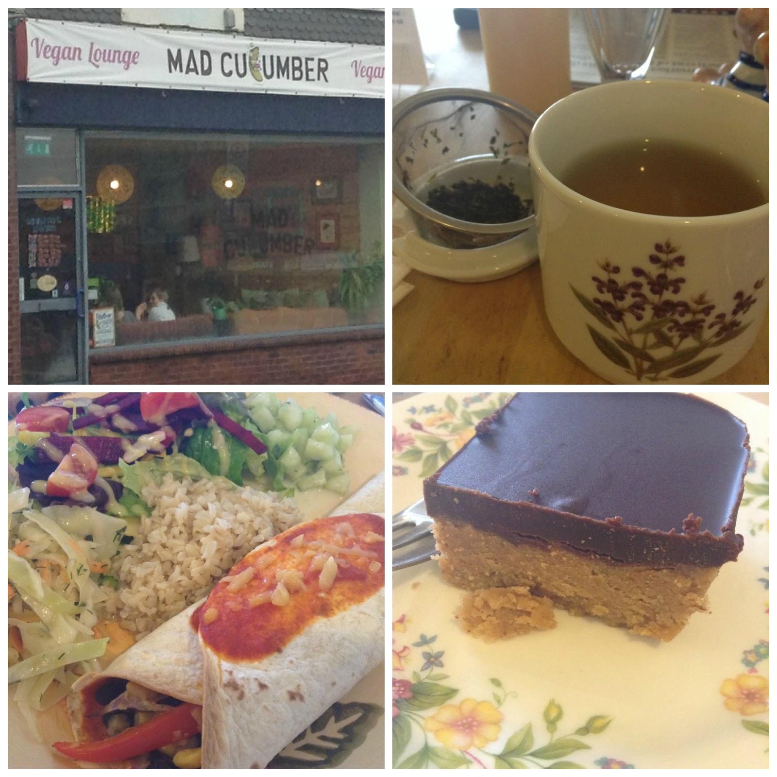 Mad Cucumber Vegan Lounge, Bournemouth