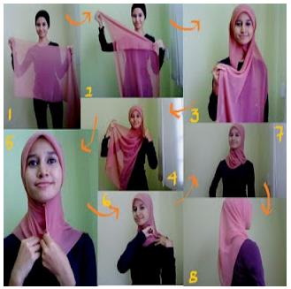 Gimana dengan gambar-gambar cantik dan anggun dengan memakai jilbab ...